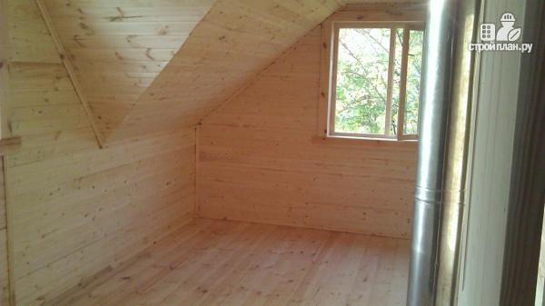 Фото 14: проект деревянный дом со столовой в эркере