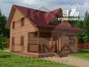 Проект брусовой дом 6х8