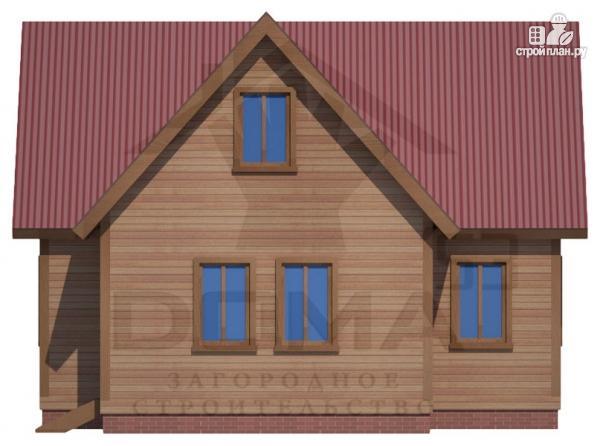 Фото 2: проект деревянный дом с просторной кухней