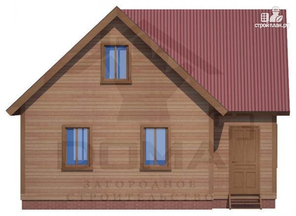 Фото 3: проект деревянный дом с просторной кухней