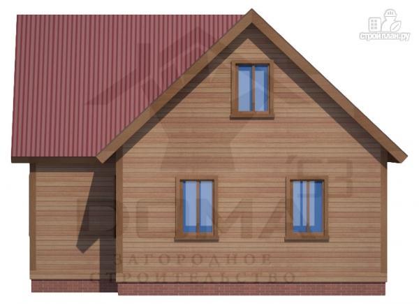 Фото 5: проект деревянный дом с просторной кухней