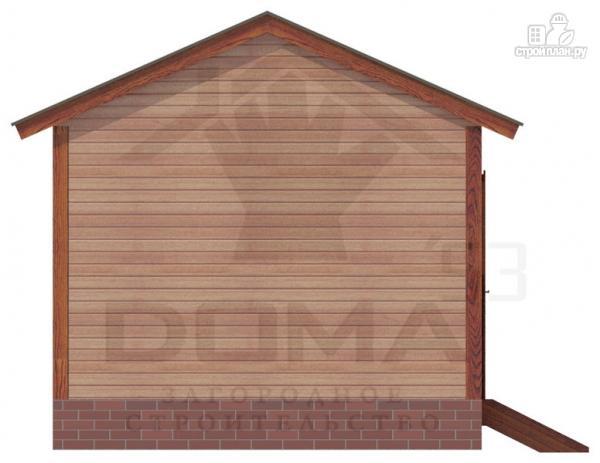 Фото 4: проект деревянная баня 4х5