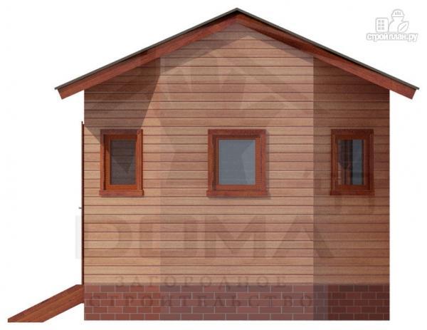 Фото 2: проект деревянная баня 4х5