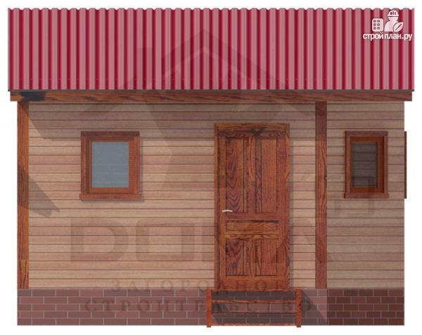 Фото 5: проект деревянная баня 4х5