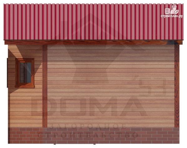 Фото 3: проект деревянная баня 4х5