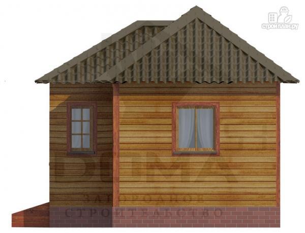 Фото 3: проект деревянная баня 6х5.5