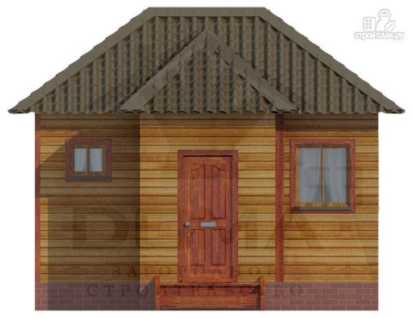 Фото 2: проект деревянная баня 6х5.5