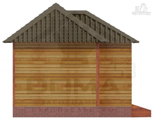Фото 5: проект деревянная баня 6х5.5
