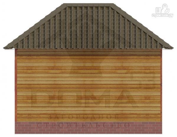 Фото 4: проект деревянная баня 6х5.5