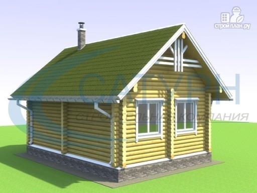 Фото 5: проект одноэтажный деревянный дом