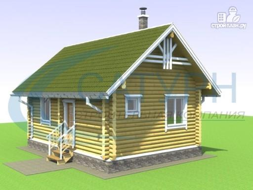 Фото 4: проект одноэтажный деревянный дом