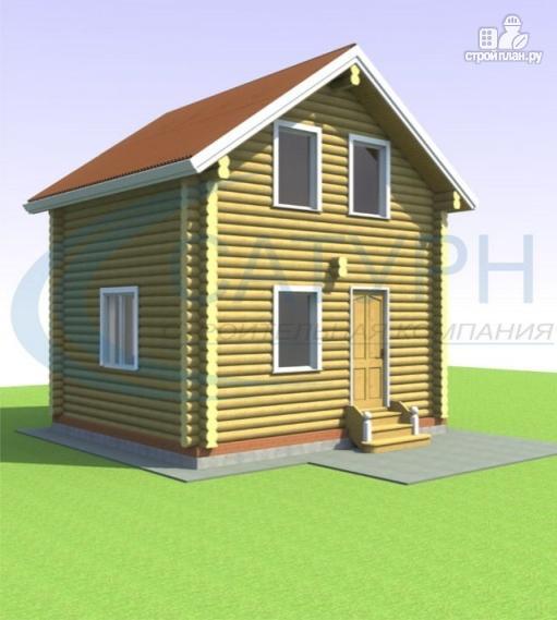 Фото 7: проект дачный дом в полтора этажа