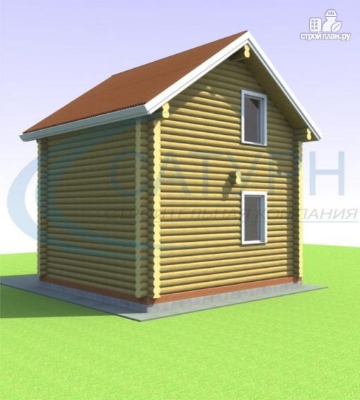 Фото 5: проект дачный дом в полтора этажа