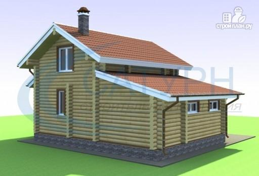 Фото 7: проект дачный дом с сауной и гаражом