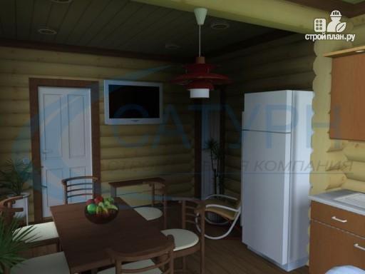 Фото 8: проект дачный дом с сауной и гаражом