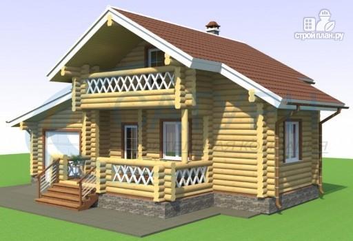 Фото 5: проект дачный дом с сауной и гаражом
