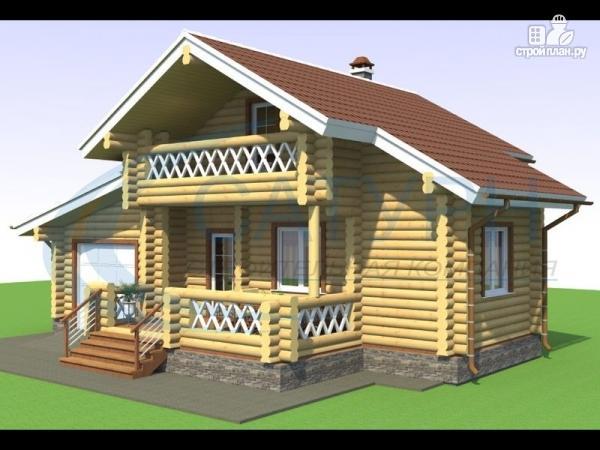 Фото: проект дачный дом с сауной и гаражом