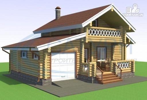 Фото 4: проект дачный дом с сауной и гаражом