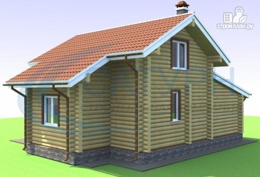 Фото 6: проект дачный дом с сауной и гаражом