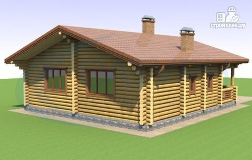 Фото 4: проект одноэтажный дом из дерева