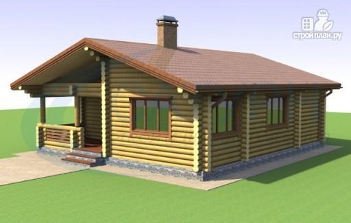 Фото 5: проект одноэтажный дом из дерева
