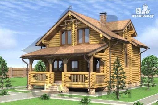 Фото 7: проект деревянный дом с верандой