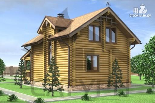 Фото 6: проект деревянный дом с верандой