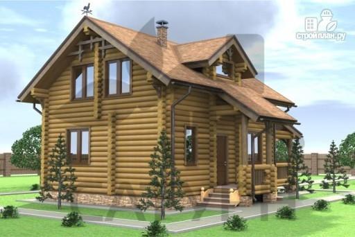 Фото 5: проект деревянный дом с верандой