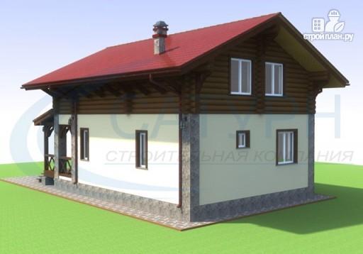 Фото 6: проект дом-шале с балконом