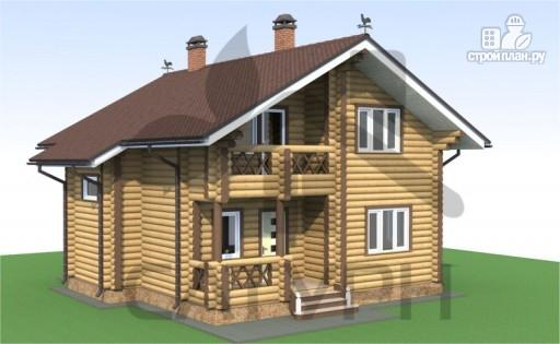 Фото 6: проект деревянный дом с камином