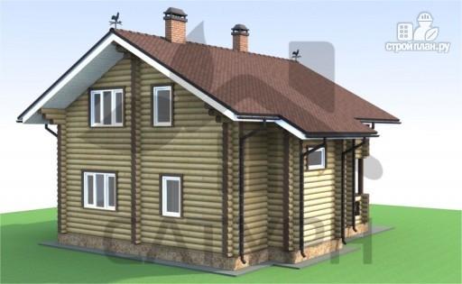 Фото 5: проект деревянный дом с камином