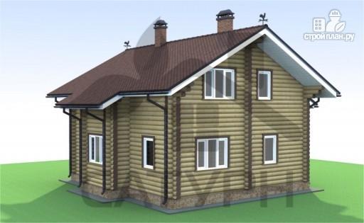 Фото 4: проект деревянный дом с камином