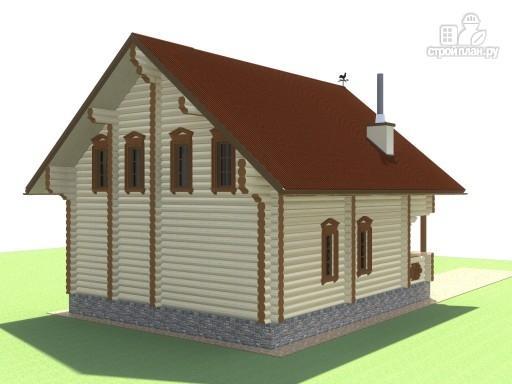 Фото 4: проект деревянный дом для большой семьи