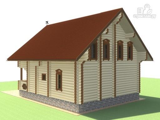 Фото 6: проект деревянный дом для большой семьи