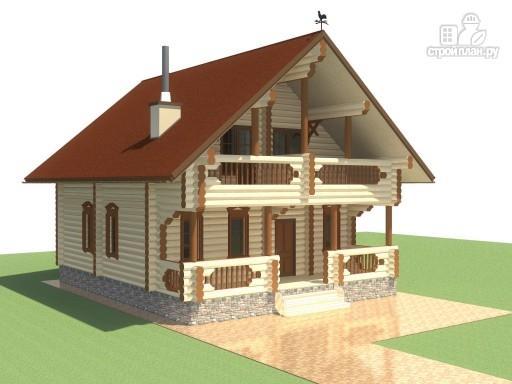 Фото 5: проект деревянный дом для большой семьи