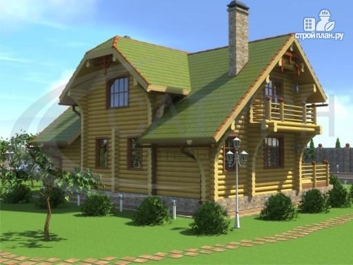 Фото 5: проект современный деревянный дом с большой террасой и вторым светом в гостинной