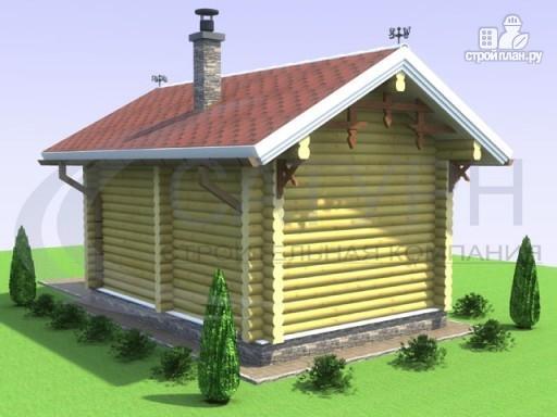 Фото 5: проект дачная баня из дерева
