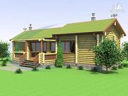 Проект одноэтажная деревянная баня