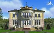 Фото: дом в стиле ренессанс, с колоннами и балконами