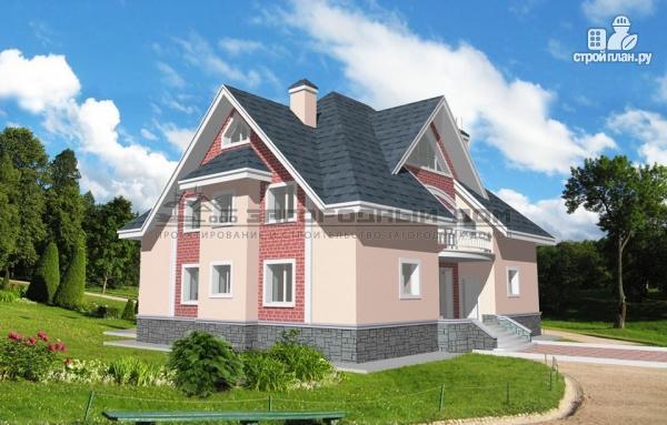 Фото 5: проект кирпичный дом с каминным и бильярдным залом