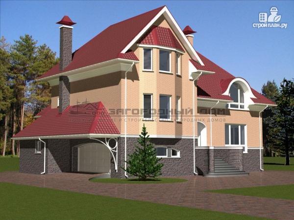 Фото 6: проект загородный дом для большой семьи со встроенным гаражом