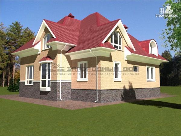 Фото 5: проект загородный дом для большой семьи со встроенным гаражом