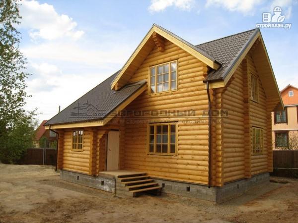Фото 4: проект деревянный дом из бревна с котельной