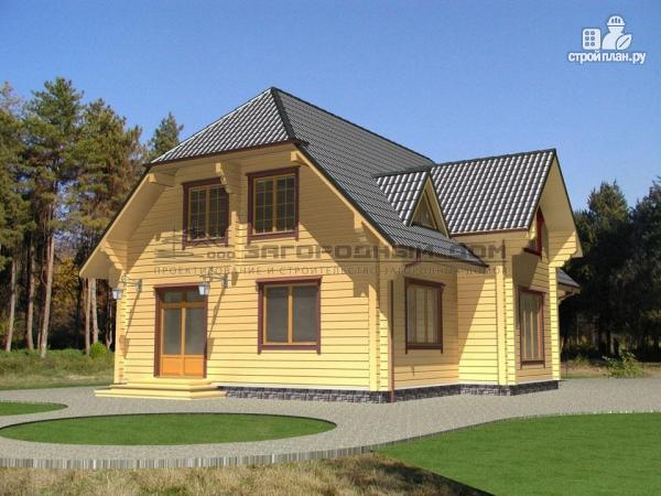 Фото 4: проект брусовой дом для большой семьи