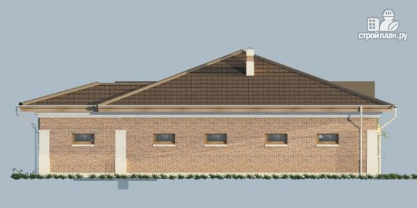 Фото 5: проект хозблок с гаражом и тренажёрным залом