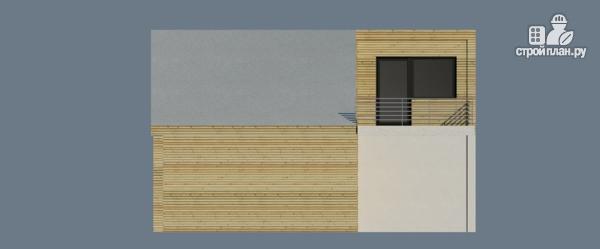 Фото 5: проект миниотель с террасой м балконом
