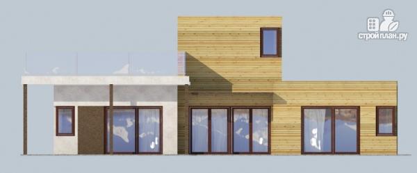 Фото 7: проект миниотель с террасой и балконом