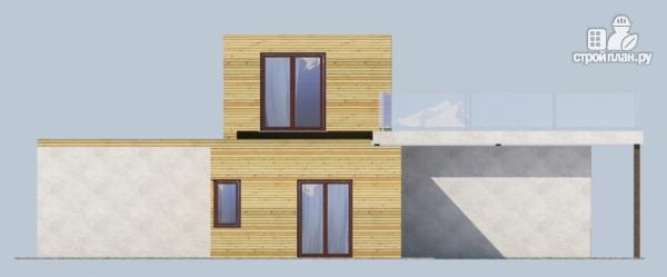 Фото 4: проект миниотель с террасой и балконом