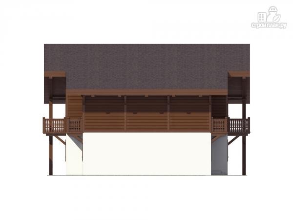 Фото 6: проект трехэтажный миниотель с балконами