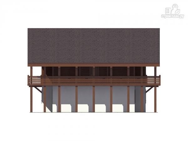 Фото 8: проект трехэтажный миниотель с балконами